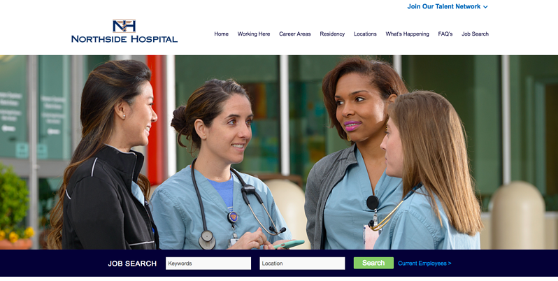Northside Career Website Home Page