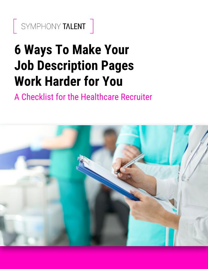 Healthcare Recruiter Checklist