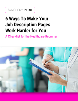 Healthcare Recruiter Checklist