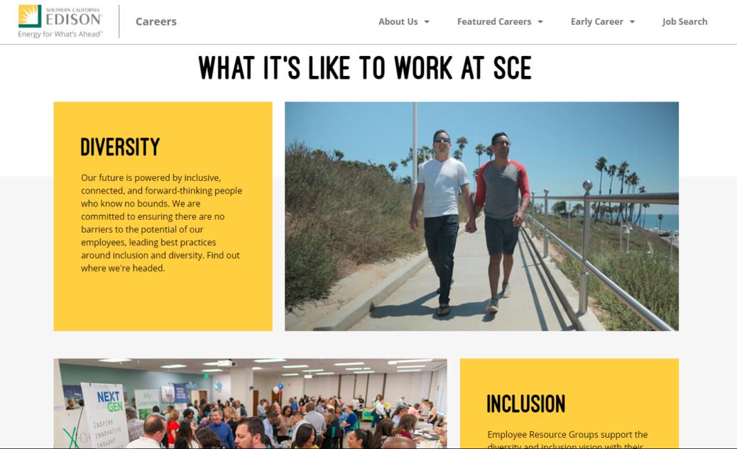 SCE career site image