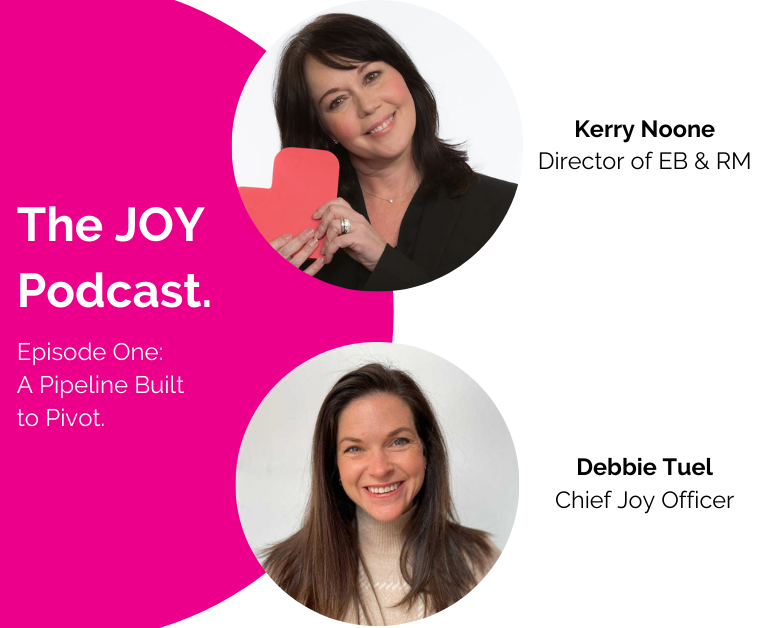 Symphony Talent The JOY Podcast Episode One: A Pipeline Built to Pivot